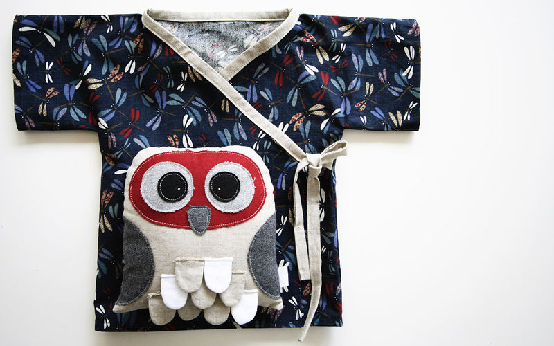 Ziggy birthday top and owl
